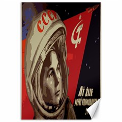 Soviet Union In Space Canvas 12  x 18  (Unframed)