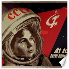 Soviet Union In Space Canvas 20  X 20  (unframed)