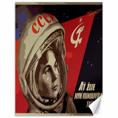 Soviet Union In Space Canvas 18  X 24  (unframed)