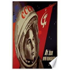 Soviet Union In Space Canvas 24  X 36  (unframed)