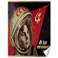 Soviet Union In Space Canvas 36  x 48  (Unframed)