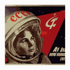 Soviet Union In Space Glasses Cloth (medium, Two Sided)