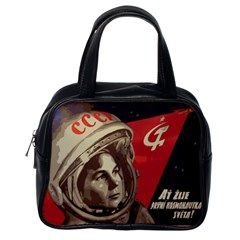 Soviet Union In Space Classic Handbag (One Side)