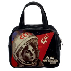 Soviet Union In Space Classic Handbag (Two Sides)