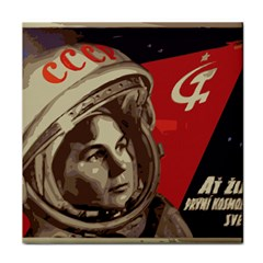 Soviet Union In Space Face Towel