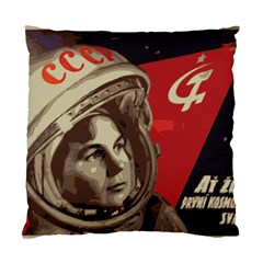 Soviet Union In Space Cushion Case (two Sided)