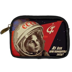 Soviet Union In Space Digital Camera Leather Case