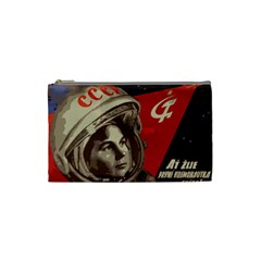 Soviet Union In Space Cosmetic Bag (Small)