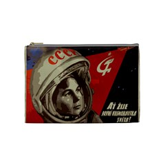 Soviet Union In Space Cosmetic Bag (Medium)