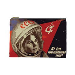 Soviet Union In Space Cosmetic Bag (large)