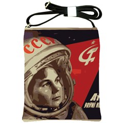 Soviet Union In Space Shoulder Sling Bag