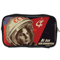 Soviet Union In Space Travel Toiletry Bag (One Side)
