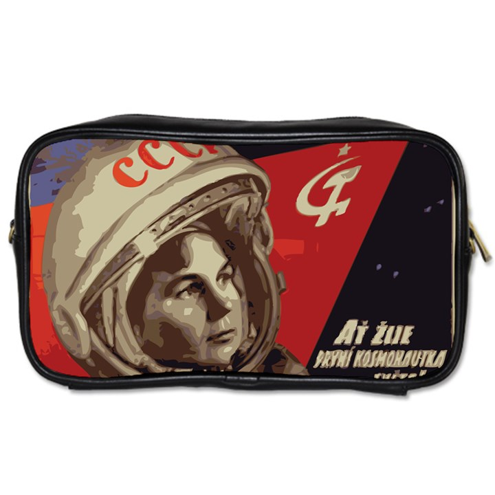 Soviet Union In Space Travel Toiletry Bag (Two Sides)