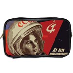 Soviet Union In Space Travel Toiletry Bag (Two Sides) Back