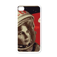 Soviet Union In Space Apple iPhone 4 Case (White)