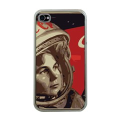 Soviet Union In Space Apple Iphone 4 Case (clear)