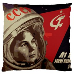 Soviet Union In Space Large Cushion Case (Single Sided)