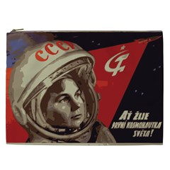 Soviet Union In Space Cosmetic Bag (XXL)