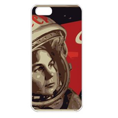 Soviet Union In Space Apple iPhone 5 Seamless Case (White)