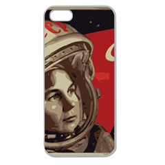 Soviet Union In Space Apple Seamless iPhone 5 Case (Clear)