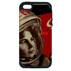 Soviet Union In Space Apple Iphone 5 Hardshell Case (pc+silicone)