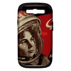 Soviet Union In Space Samsung Galaxy S Iii Hardshell Case (pc+silicone)