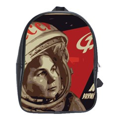Soviet Union In Space School Bag (xl)