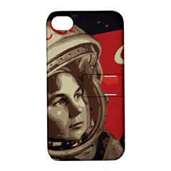 Soviet Union In Space Apple Iphone 4/4s Hardshell Case With Stand