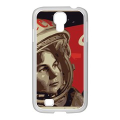 Soviet Union In Space Samsung GALAXY S4 I9500/ I9505 Case (White)