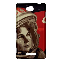 Soviet Union In Space Sony Xperia C (S39h) Hardshell Case