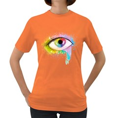 Window To The Soul Womens' T Shirt (colored)