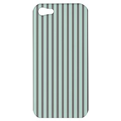 Light Green And Grey Strip Copy Apple iPhone 5 Hardshell Case