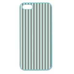 Light Green And Grey Strip Copy Apple Seamless iPhone 5 Case (Color)
