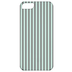 Light Green And Grey Strip Copy Apple iPhone 5 Classic Hardshell Case