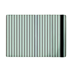 Light Green And Grey Strip Copy Apple iPad Mini Flip Case