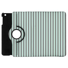 Light Green And Grey Strip Copy Apple iPad Mini Flip 360 Case