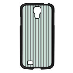 Light Green And Grey Strip Copy Samsung Galaxy S4 I9500/ I9505 Case (black)