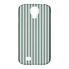 Light Green And Grey Strip Copy Samsung Galaxy S4 Classic Hardshell Case (pc+silicone)