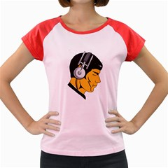 Space Beats Women s Cap Sleeve T-Shirt (Colored)