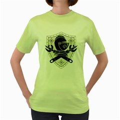 The Seal Womens  T-shirt (Green)