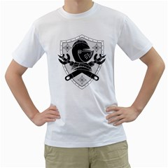 The Seal Mens  T Shirt (white)