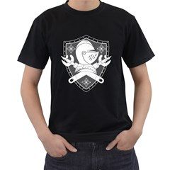 The Seal Mens' Two Sided T-shirt (Black)
