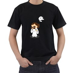 Taking a break from the Empire Mens' Two Sided T-shirt (Black)