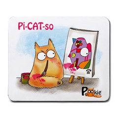 Picatso By Pookiecat Large Mouse Pad (rectangle)