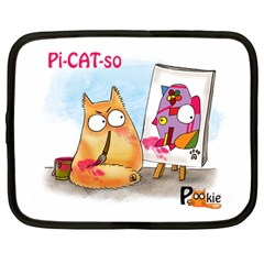 Picatso By Pookiecat Netbook Case (large)
