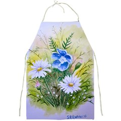 Meadow Flowers Full Print Apron