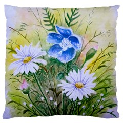 Meadow Flowers Large Cushion Case (One Side)