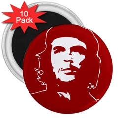 Chce Guevara, Che Chick 3  Button Magnet (10 pack)