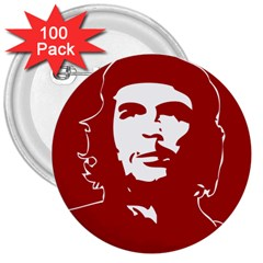Chce Guevara, Che Chick 3  Button (100 pack)