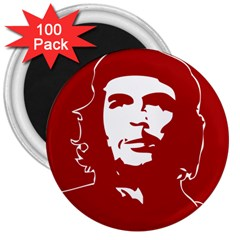 Chce Guevara, Che Chick 3  Button Magnet (100 pack)